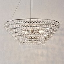 Extra Large Glass Orb Chandlier Ceiling Light,