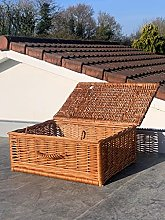 Extra Large Home Delights Brown Handmade Wicker