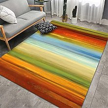 Extra Large Rug Color pastel rug Retro style soft