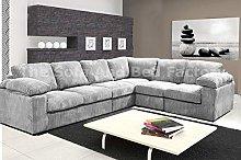 Extra Large Ruxley 6 Seater Reversible Corner Sofa