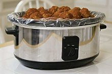 Extra Large Slow Cooker Liners Fits Up To 7-8