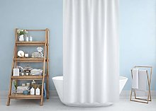Extra Long and Extra Wide Fabric Shower Curtain
