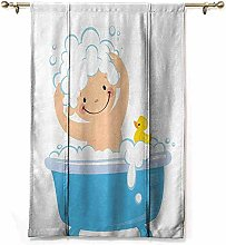 Extra Long Curtain Nursery Collection Baby Boy