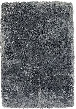 Extra Soft Shaggy Rug, 90cm x 60cm, Ash Blue