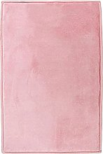 Extra Soft Velour Look Rug 120cm x 170cm Pink