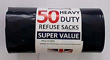 Extra Strong Eco Large Dustbin Bin Bags Heavy Duty