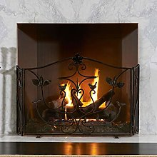 Extra Wide 60 Inch Hearth Fireplace Screen -