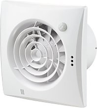 Extractor Fan Quiet 100mm, with Ball-Bearing Motor