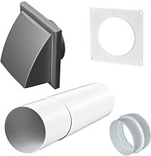 Extractor Fan Telescopic Wall Ventilation Duct