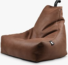 Extreme Lounging Mighty Faux Leather Bean Bag,