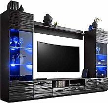 ExtremeFurniture - 260cm Length - 15 Colour LED -