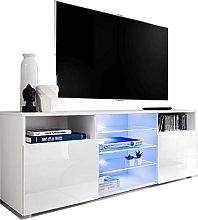ExtremeFurniture Cabinet Media Center TV Console