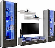 ExtremeFurniture Castle TV Set, Carcass in White