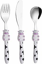 Exzact Children's Cutlery Stainless Steel 3pcs