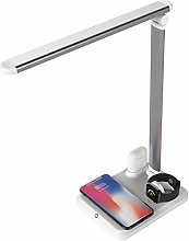 Eye-Caring Table Lamps Wireless Charger Stand Led