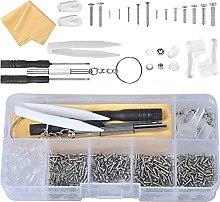 Eyeglass Repair Kit, Glasses Repair Kit with 500
