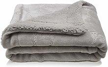 eYone New Fleece Boy or Girl Baby Blanket Sheep
