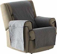 Eysa Zoco Non Elastic Sofa Cover, Grey