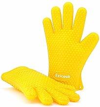 EZICOOK Oven Glove & BBQ Glove with FREE Hanging