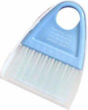 F-blue Plastic Mini Broom Dustpan Keyboard Brush