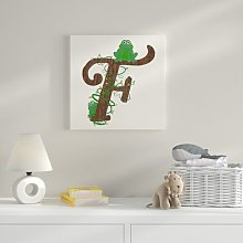 F Canvas Art HoneyBee Nursery