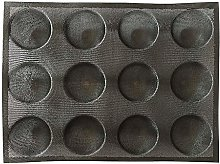 F Fityle 12 Cup Silicone Muffin Pan - Non-Stick