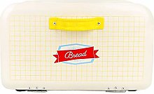 F Fityle Bread Box for Kitchen, Retro Style Bread