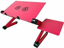 F Fityle Laptop Cooling Stand Lap Desk with Mouse