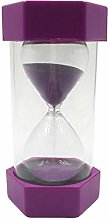 F Fityle Plastic Sauna Sand Timer Clock 1 Minute,