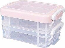 F Fityle Plastic Storage Bin with Lid, Medicine