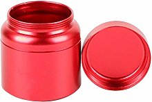 F Fityle Round Tea Coffee Canister Food Caddy