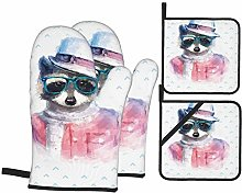 F-shop Funny Decor Retro Hipster Funky Raccoon