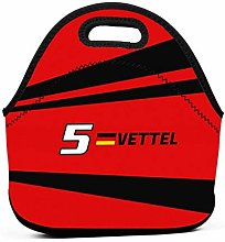 F1 2019 - #5 Vettel Insulated Lunch Bag Tote