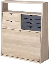 Fabian Natural Oak Secretary
