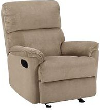 Fabric Armchair Brown EVERTON