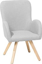 Fabric Armchair Grey BJARN