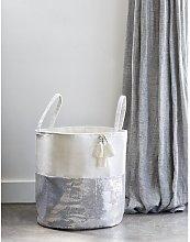 Fabric Basket Art for kids