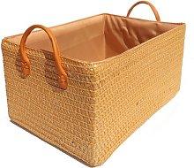 Fabric Basket Wayfair Basics Colour: Orange, Size: