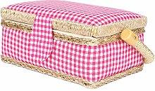 Fabric Cloth Sewing Storage Box Sewing Basket