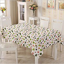 Fabric Cotton and Linen Tablecloth Creative