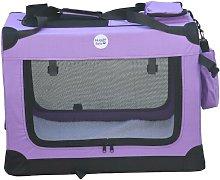 Fabric Crate - Large Purple - Hugglepets