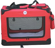 Fabric Crate - Large Red - Hugglepets