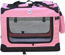Fabric Crate - Medium Pink - Hugglepets