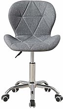 Fabric Linen Desk Chair for Home Office Computer