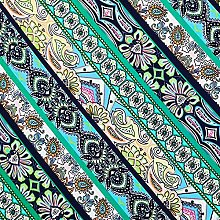 FABRIC.MVP Stretch Fabric by The metre UK Green