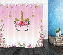 Fabric Shower Curtain Liner Waterproof Fabric