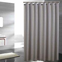 Fabric shower curtain, washable polyester bath