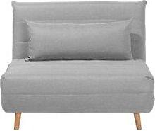 Fabric Sofa Bed Grey SETTEN
