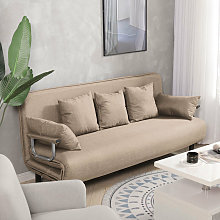Fabric Sofa Bed Recliner Chair Double Sleeper Bed