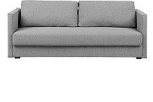 Fabric Sofa Bed with Storage Grey EKSJO